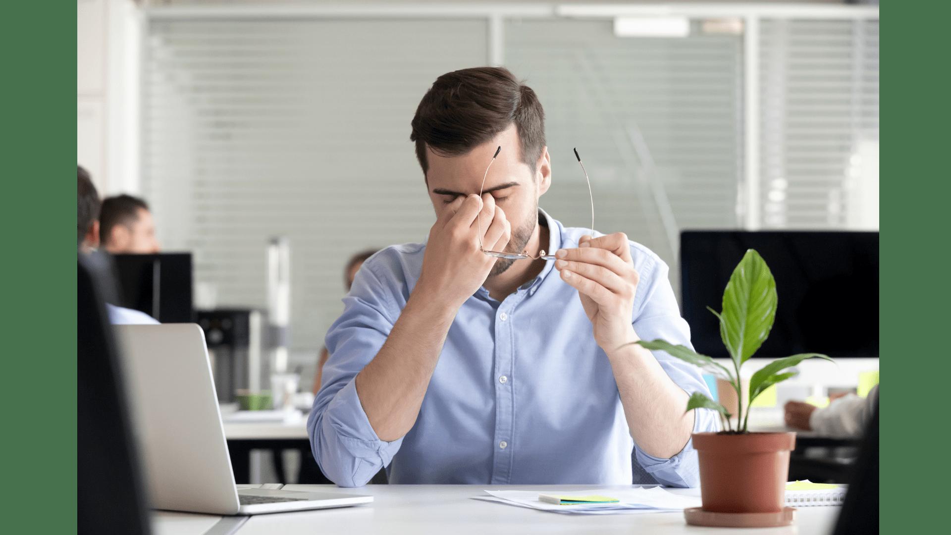 Vision Problem Headache